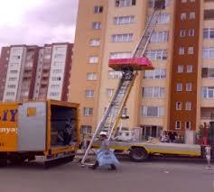 Asansörlü ev eşyası taşıma